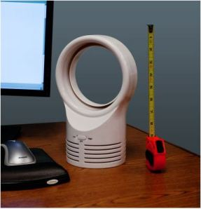 11 inch bladeless fan on desk - Tanga