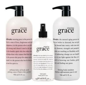 Amazing Grace with body spritz