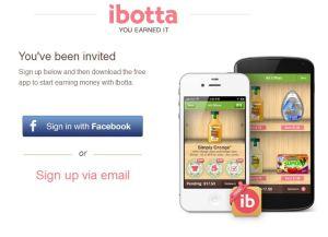 Ibotta registration page