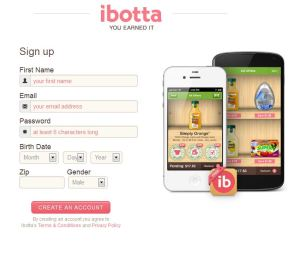 Ibotta registration