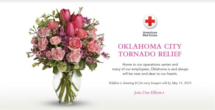 Teleflora - Oklahoma relief
